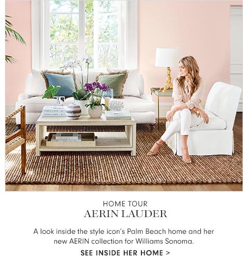 Home Tour Aerin Lauder
