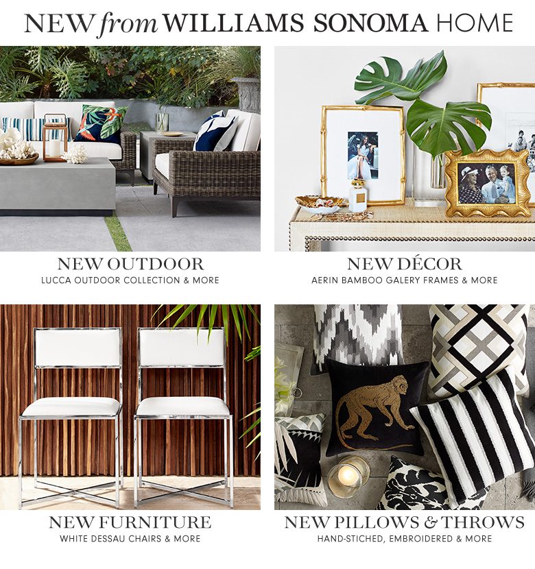 New from Williams-Sonoma Home