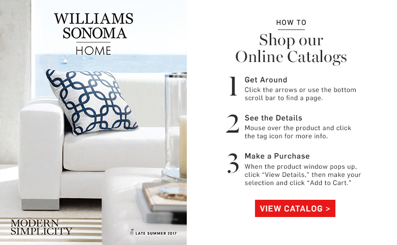 Williams Sonoma Home eCatalog >