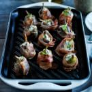 Grilled Prosciutto-Wrapped Figs with Goat Cheese