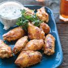 Tandoori Chicken Wings with Lemon