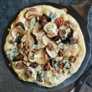 Flatbread with Figs, Pears and Blue Cheese