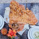 Sierra Dip with Guajillo Chile Flatbreads