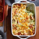 Vegetable Lasagna with Yellow Tomatoes