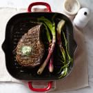 Pan-Grilled Pepper-Crusted Rib Eye