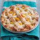 Peach Lattice Pie