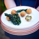 Kale and Mushroom Croquetas
