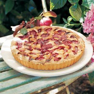 Plum-Almond Tart