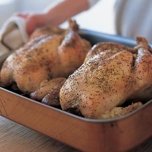 Recipes Main Courses Poultry and Game Classic Roast Chicken