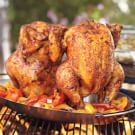Grill-Roasted Chicken with Chimichurri Rojo