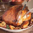 Cider-Brined Turkey with Herb Butter
