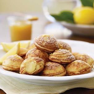 Lemon-Mascarpone Filled Pancakes