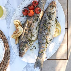 how to cook whole branzino