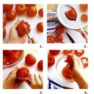 Peeling and Seeding Tomatoes