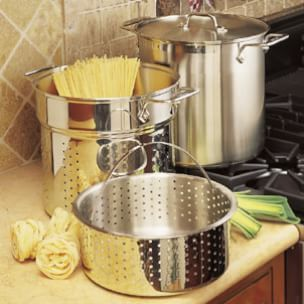 The Versatile Stainless-Steel<br>Multi-Use Pot