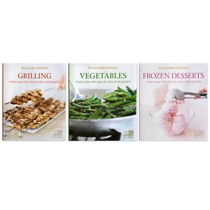 Book Brief: Mastering Series (Part 2: Vegetables, Grilling & Barbecuing, Frozen Desserts)