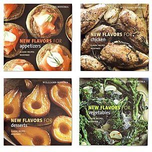 Williams-Sonoma New Flavors Cookbooks