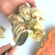 Preparing Fresh Crab