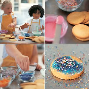 Decorating Kids' Cookies