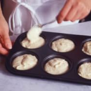 Mixing Muffin Batter