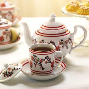 Hosting a Tea Party