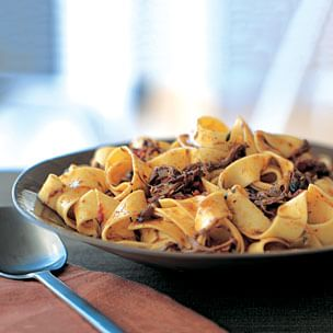 Pappardelle with Beef Ragù