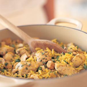 Spiced Chicken & Rice