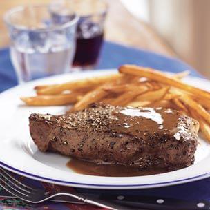 Classic Steaks au Poivre