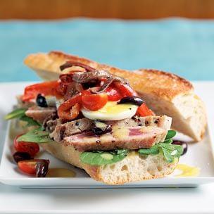 Niçoise Salad Sandwiches