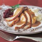 Roasted Turkey with Herbs and Port Gravy