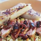 Seared Duck Breast with Pinot Noir Sauce