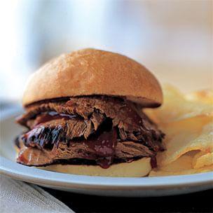 BBQ Brisket Sandwiches