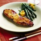 Miso-Glazed Sea Bass