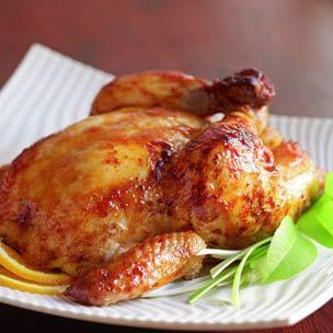Miso-Glazed Roast Chicken