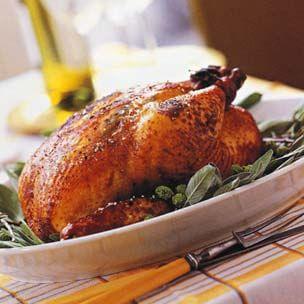Roast Chicken with Balsamic Vinegar and Sage (Pollo Arrosto al Balsamico)