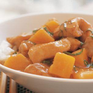 Thai Pumpkin & Chicken Curry