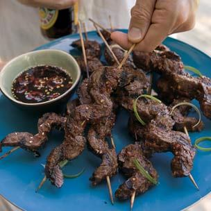 Beef Satay with Ginger Dipping Sauce | Williams-Sonoma