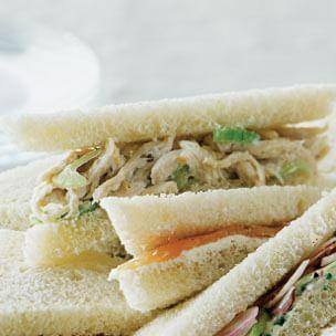 Lemon-Chicken Salad Sandwiches