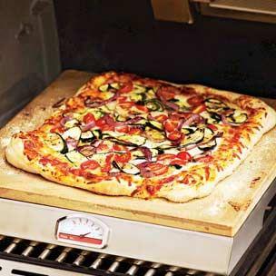 Sicilian Zucchini Pizza