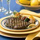 Tuscan Grilled Rib-Eye Steaks