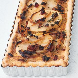 Potato-Onion Tart