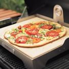 Heirloom Tomato and Basil Pizza