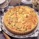 Leek and Canadian Bacon Quiche