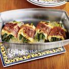 Individual Lasagnas with Asparagus & Prosciutto