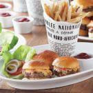 Mini Burgers with Pimento Cheese
