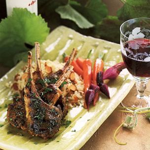Lamb Chops with Moroccan Spices