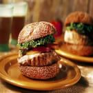 Tuna Burgers with Ginger-Mustard Mayonnaise