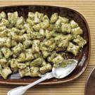 Potato Gnocchi with Pesto