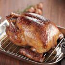 Glazed Roast Turkey with Shallot Gravy