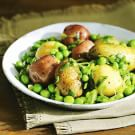 New Potatoes with Spring Peas